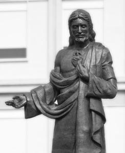 Ayuntamiento de Pamplona -Monumento al Sagrado Corazón de Jesús
